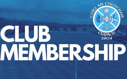 Club Membership Re-Opened