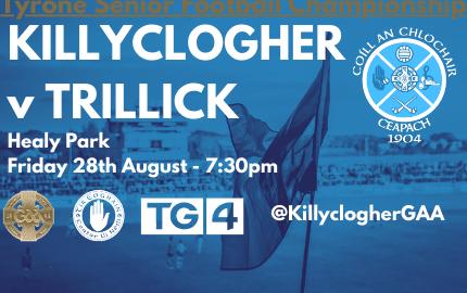 Killyclogher v Trillick SFC