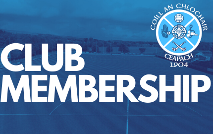 Club Membership Re-Opened