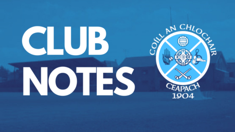 Club Notes: May 5th