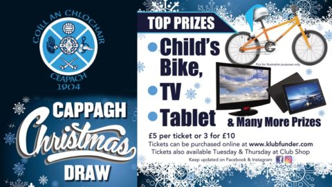 Christmas Draw Launched – Buy Tickets Here