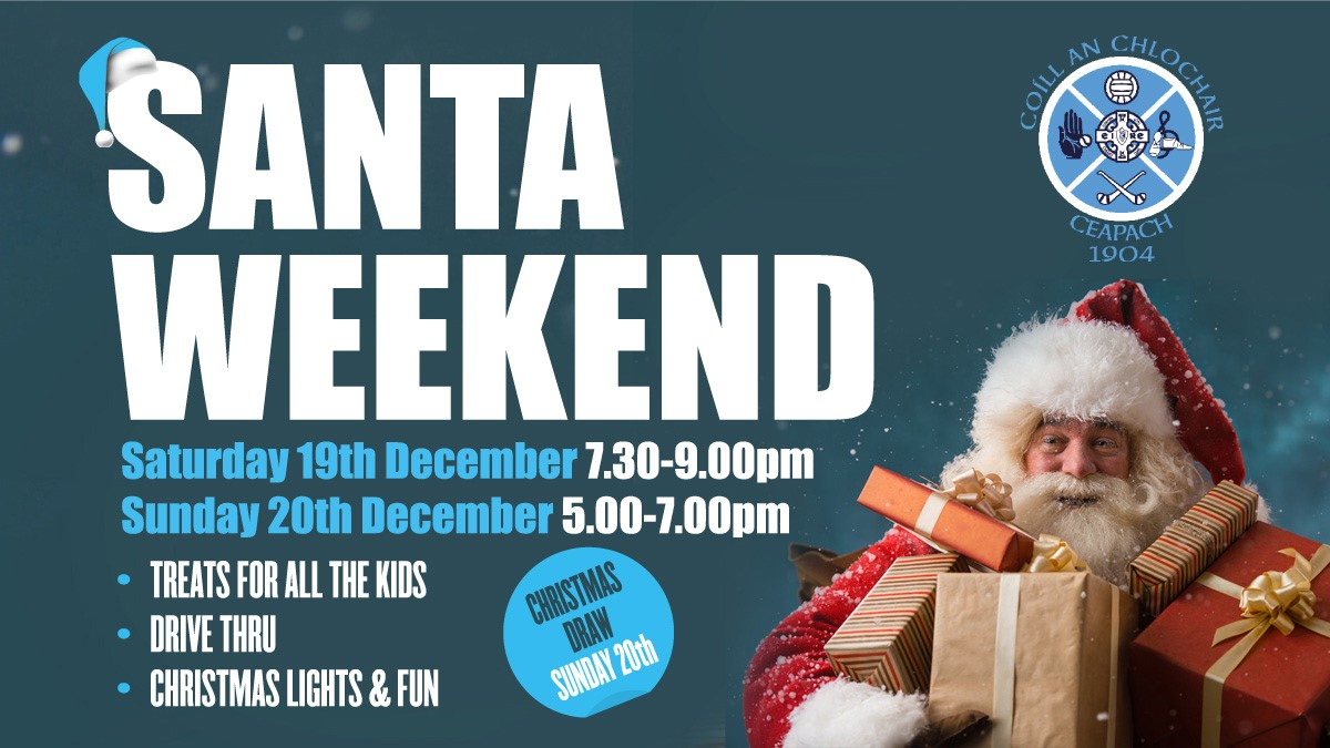 Santa Drive-Thru This Weekend