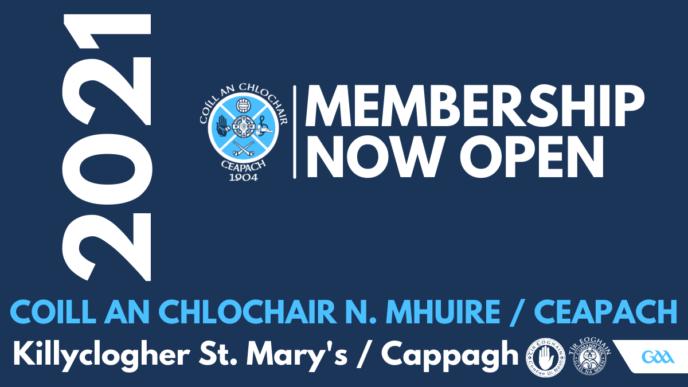 2021 Club Membership Now Due