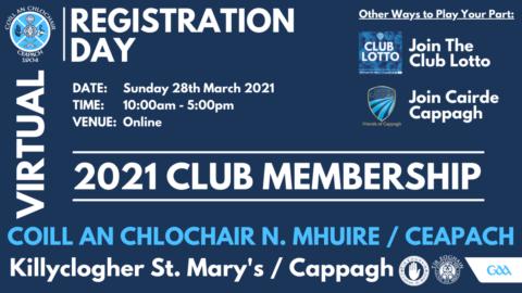 Virtual Membership Day – This Sunday