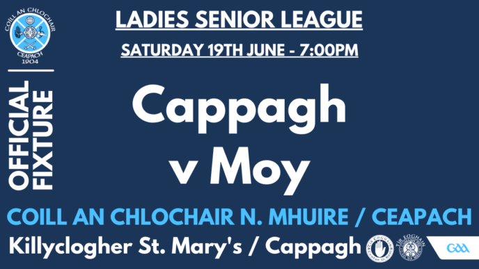 Senior Ladies Begin League This Evening