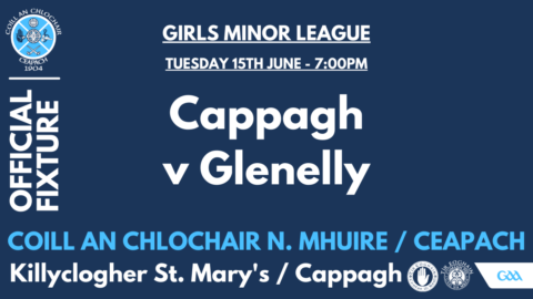 Minor Girls Play Glenelly This Evening