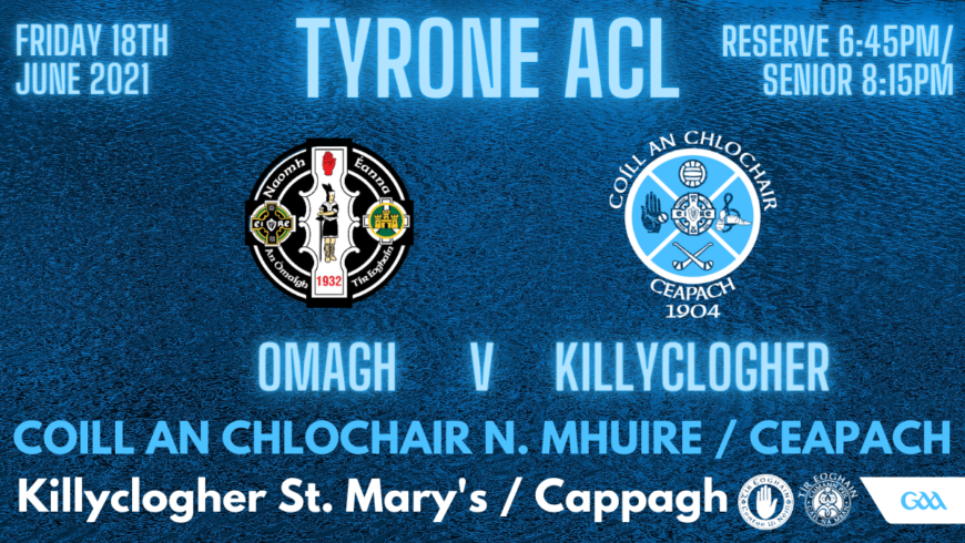 Omagh v Killyclogher This Evening