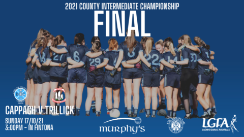 LADIES COUNTY FINAL – CHANGE OF TIME